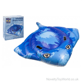 Stingray Inflatable Pool Toy Lounger (188cm)